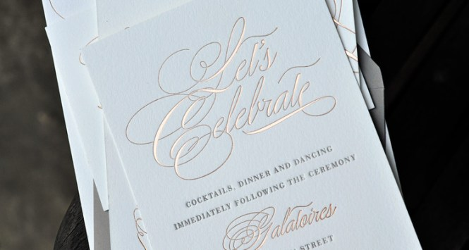 Custom Invitations And Stationery Paper Luxe