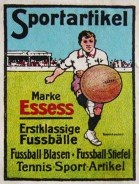 German Soccer Stamp