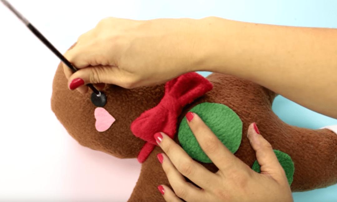 Gingerbread man de Miss little zombie – Manualidades navidad