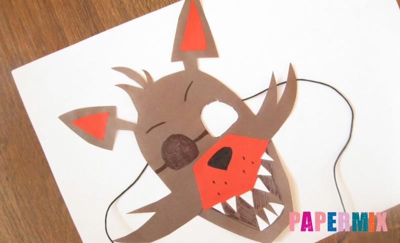 Foxh қағаз маскасын өз қолдарымен қалай жасауға болады