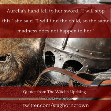 Aurelia - I will stop this - The Witch's Uprising - A Thousand Watchful Eyes
