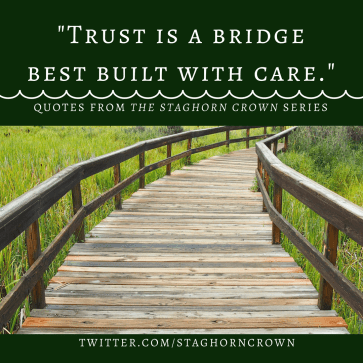 Trust is a bridge best built with care. (1)
