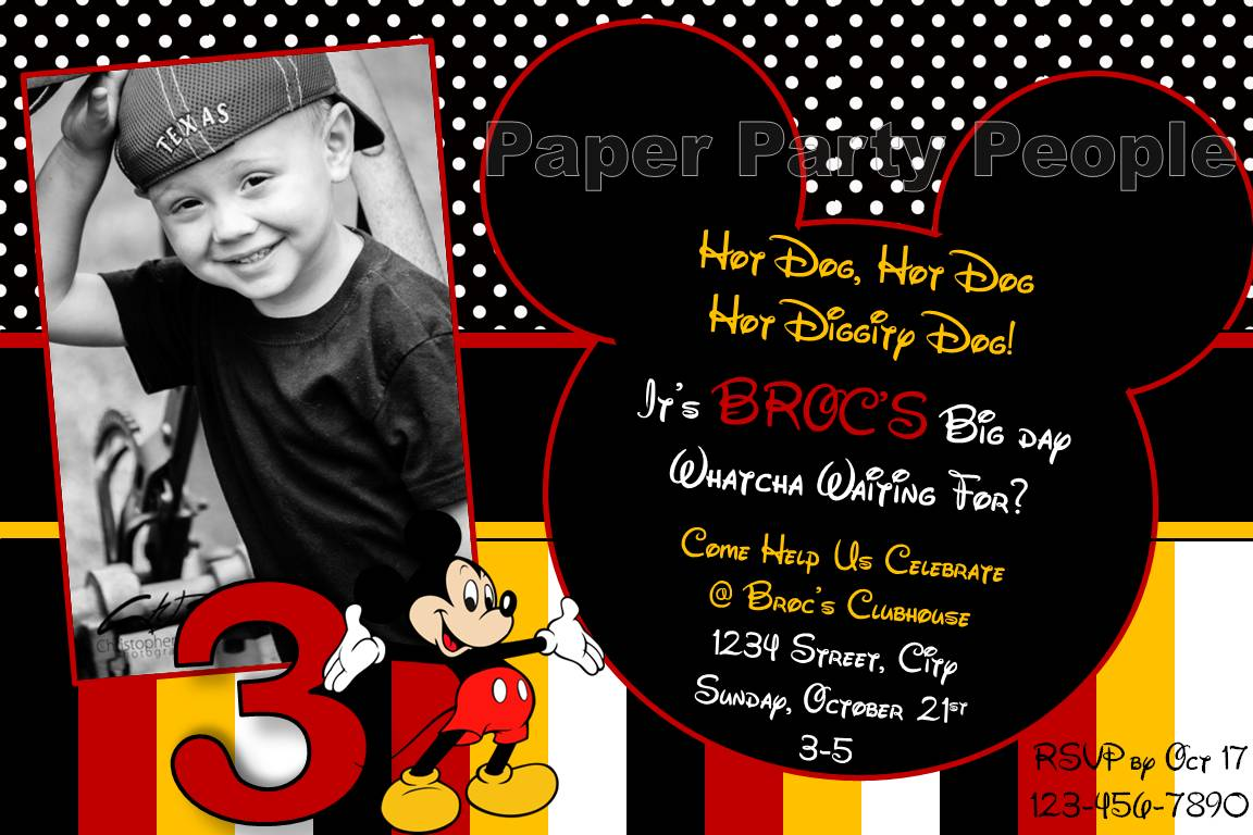 mickey mouse 3rd birthday party the