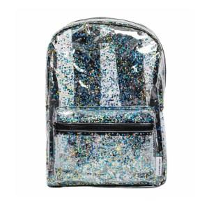 Backpack Glitter Transparent/Black