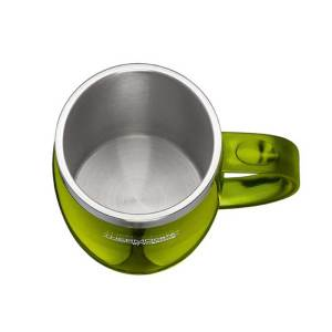 Stainless-Steel-with-Plastic-Cover-Desktop-Mug-350ml-Lime-Green-1