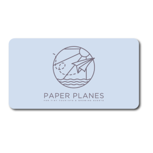 Paper planes gift card