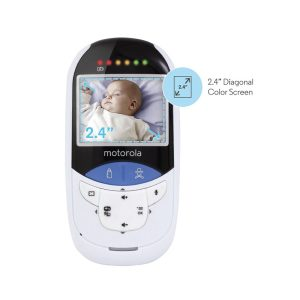 "2.4"" Digital Video Monitor With Touchless Thermometer"
