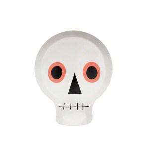Meri Meri Neon Skull Plates
