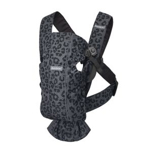 BABYBJÖRN Baby Carrier Mini 3D Mesh Anthracite/Leopard