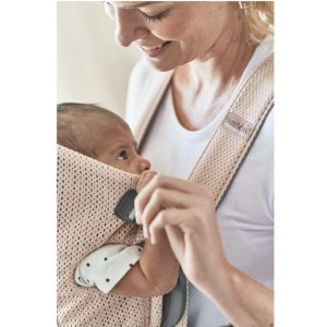 BABYBJÖRN Baby Carrier Mini 3D Mesh Pearly Pink