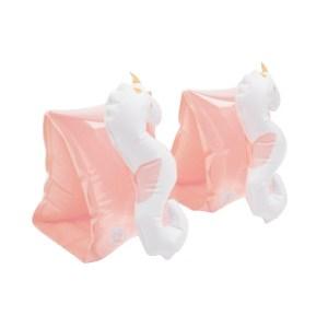 Sunnylife Buddy Float Bands Seahorse Unicorn White