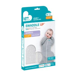 Love to Dream Swaddle UP Bamboo Original Grey Dot