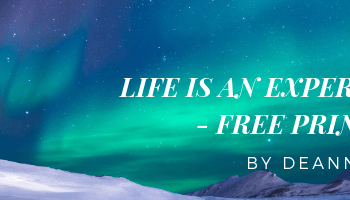 Life is an Experiment – Free Printable!