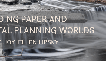 Melding Paper with Digital Planning Worlds