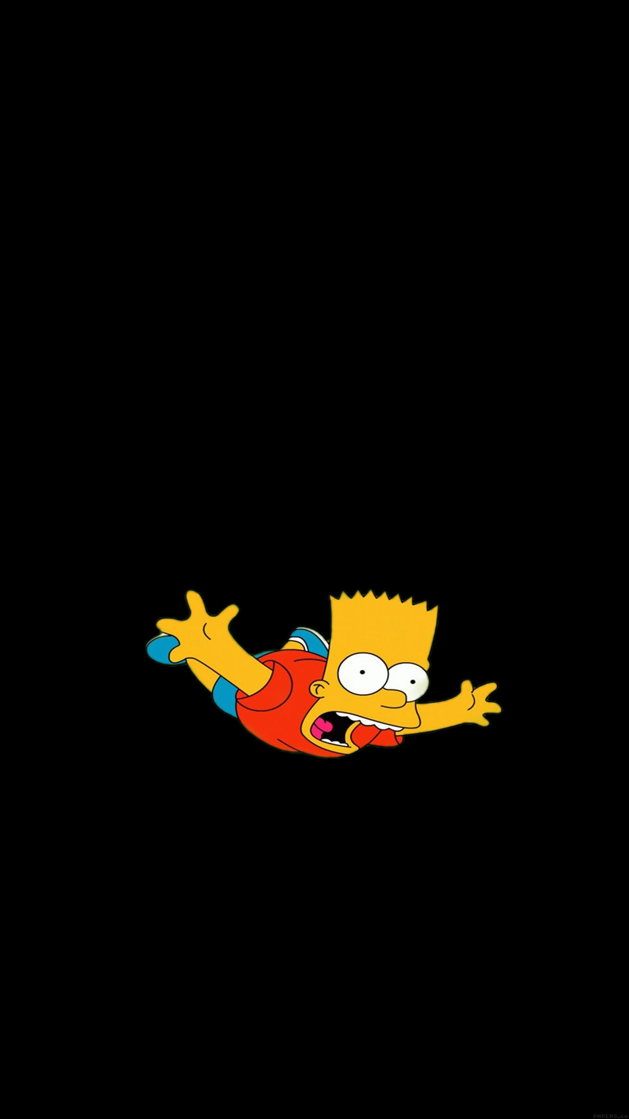 The Simpsons Bart 3wallpapers Iphone Parallax 169 300 Bart Simpson