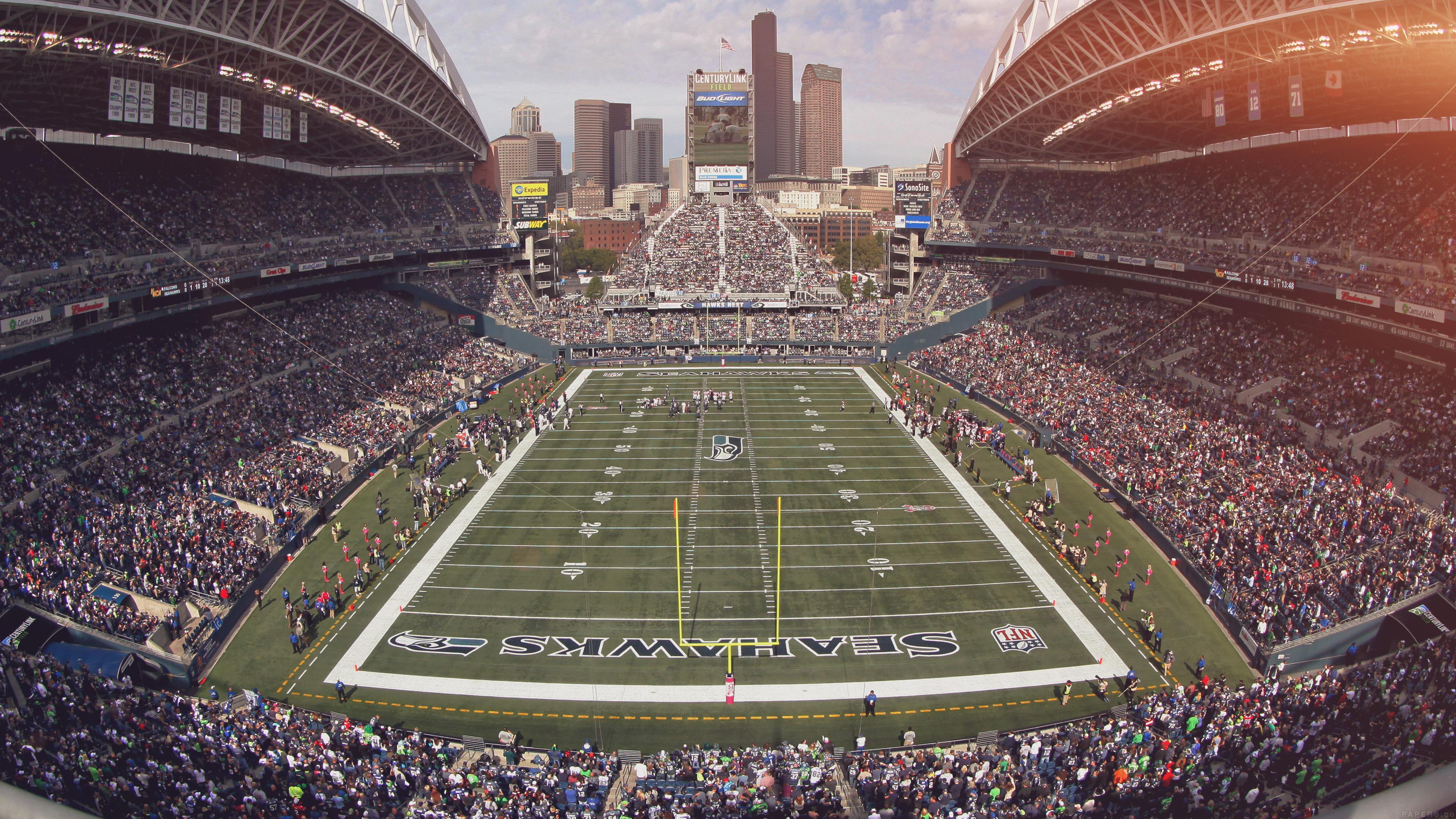 Mp98 Seahawks Seattle Sports Stadium Football Nfl
