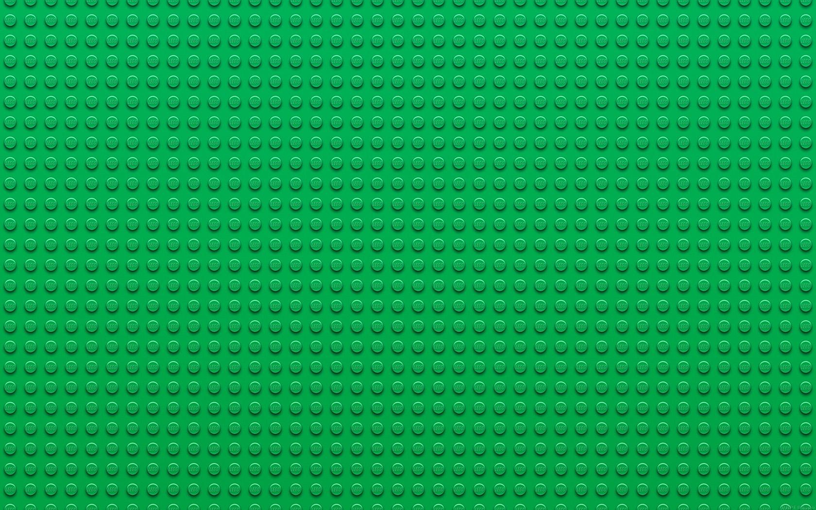 Vf30 Lego Toy Green Block Pattern