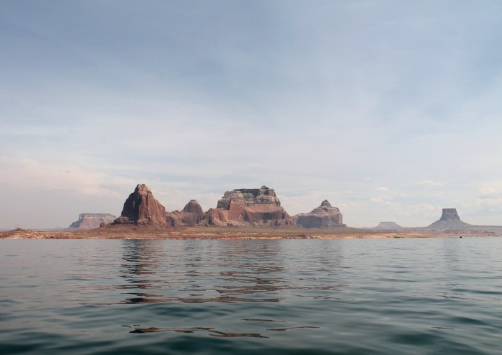 Rock formations at Lake Powell