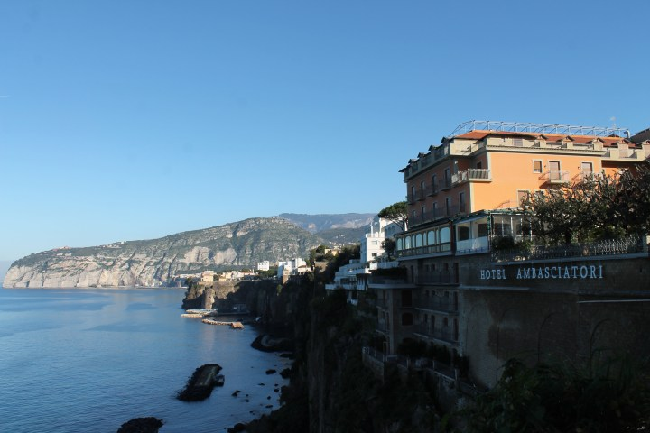 Sorrento Italy coast view