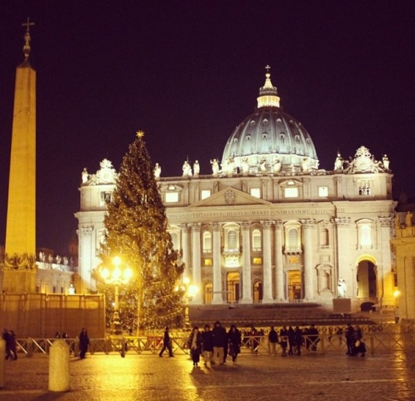 Saint Peter's Square (Piazza San Pietro) Christmas