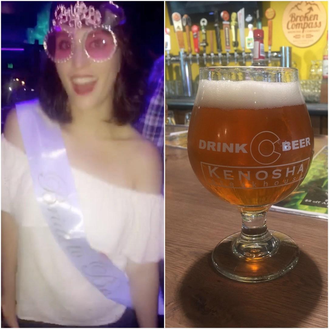 Breckenridge Bachelorette dancing and beer