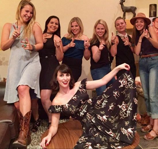 Wild West Bachelorette Breckenridge Colorado