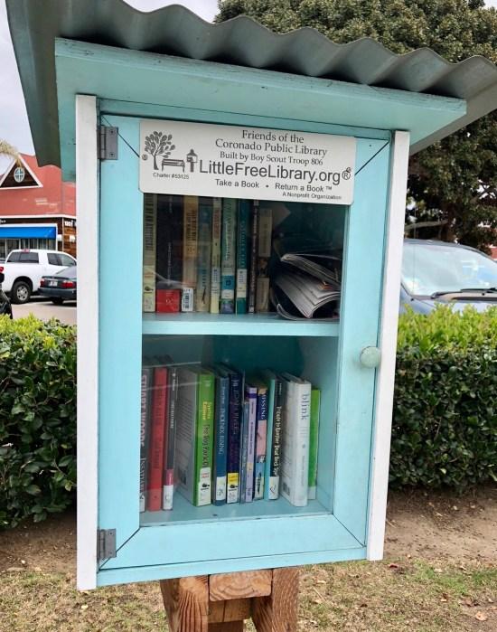 Coronado California little library
