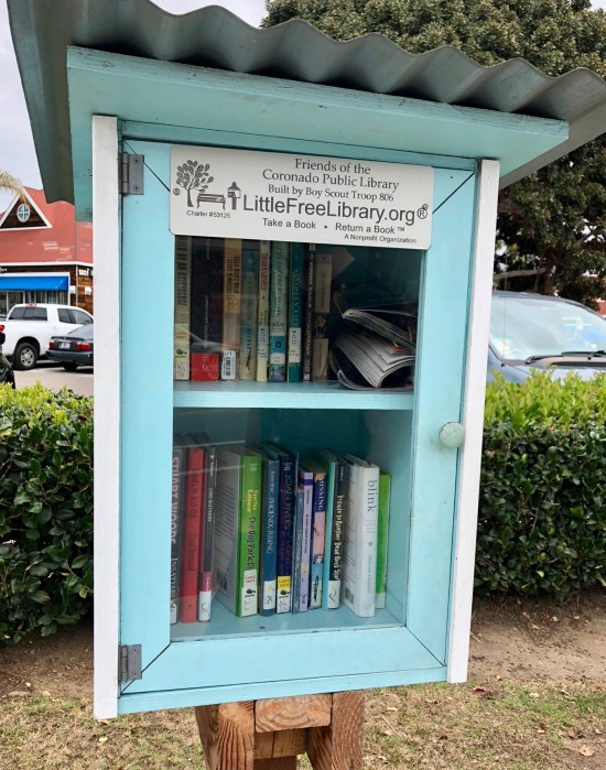 Coronado California little library