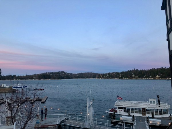 Arrowhead Queen Lake Arrowhead Village winter