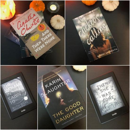 Fall mystery books