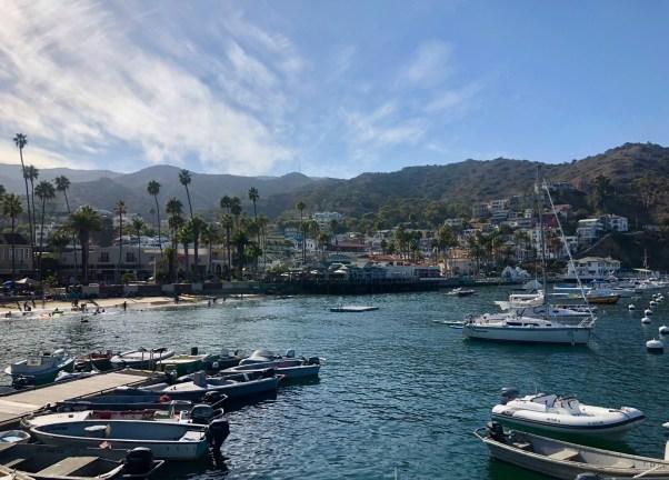 Catalina Island Avalon harbor