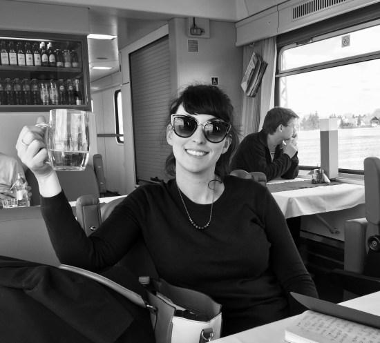 Berlin to Prague train