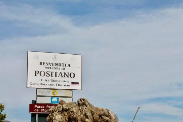 Benvenuti a Positano