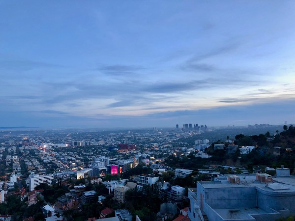 View of West Hollywood