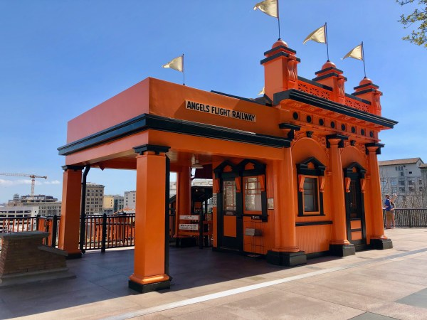 Angels Flight Railway, Downtown Los Angeles