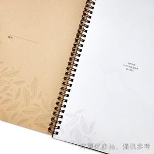 品牌筆記本-雙線圈