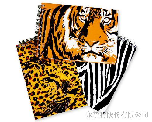 野生動物書籤筆筆記本-7050-NP,0