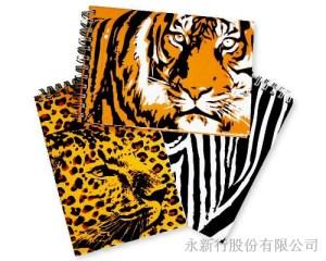 野生動物書籤筆筆記本-7050-NP,1