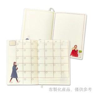 客製化縫線精裝圓角日誌-筆記本日誌.1