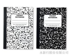 大理石膠裝筆記本(2本入)-筆記本_81-64N,2