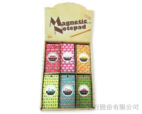 磁鐵便條本(車子)-便條紙MP-4806,0