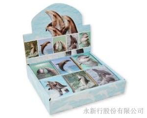 動物便條系列海豚便條紙,1