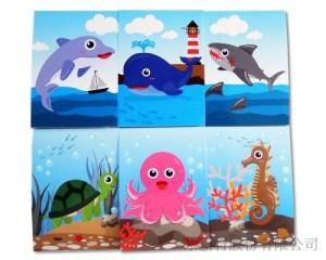 動物便條系列海洋動物-便條紙_M-14449,2