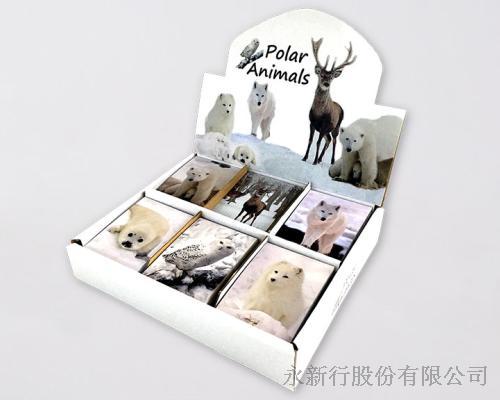 動物便條系列Polar_Animals便條紙-M-14452
