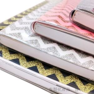 金蔥膠裝筆記本客製化-筆記本,2