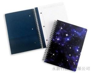 星空系列小線圈筆記本-筆記本_78-20WN,1