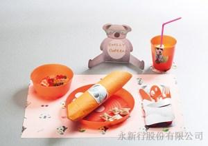 DIY動物派對組_83-04PKO-無尾熊紙餐墊,2