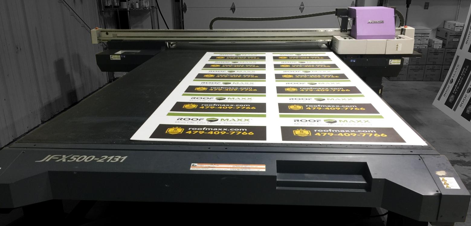 Large Format/Flatbed Printing