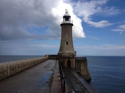 Michael Mulvihill, Tynemouth Lighthouse, North Sea