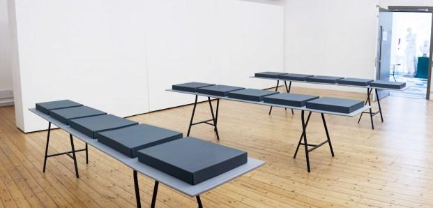 Agnieszka Kozlowska installation view, Ex Libris Gallery